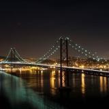 Ponte 25 de Abril com iluminação mais eficiente
