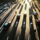 Trânsito em Portugal cai 23% em 2020