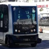 5G Mini Bus percorre cidade de Aveiro