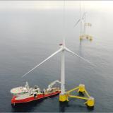 Primeiro parque eólico flutuante da Europa já está a produzir