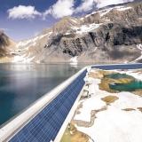 Axpo constrói central solar de alto rendimento nos Alpes suíços