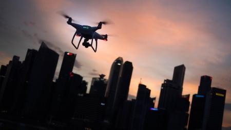 Drones podem ter um papel importante a encontrar pessoas desaparecidas