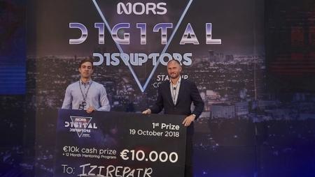 Startup IZIRepair vence Nors Digital Disruptors