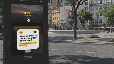 Digital Signage na proteção da saúde pública