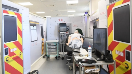 Ambulâncias 5G permitirão atendimento médico remoto