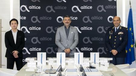 Altice, Huawei e GNR em parceria para combater o isolamento social