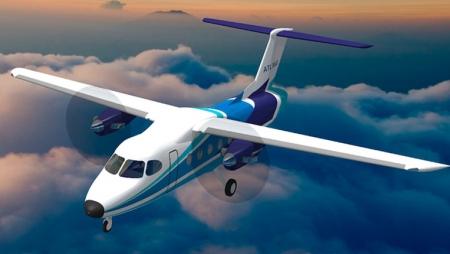 Projeto luso-brasileiro desenvolve aeronave para transporte regional