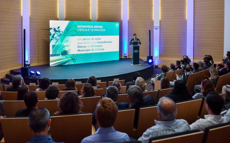 Oeiras vai investir anualmente em ciência
