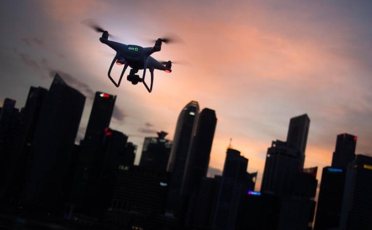 Indra apresenta drones para gerir tráfego