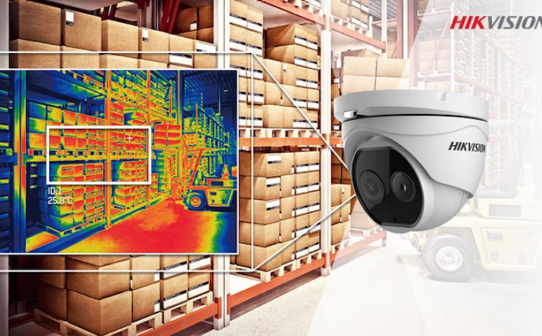 Hikvision lança gama de câmaras de prevenção de incêndios