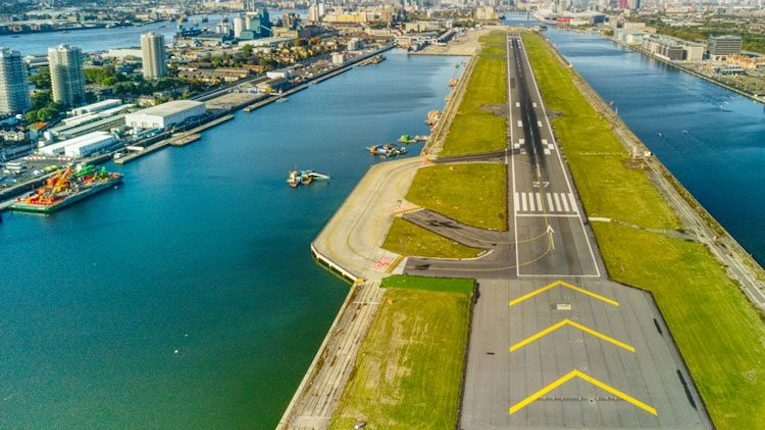 London City Airport implementa rede elétrica inteligente