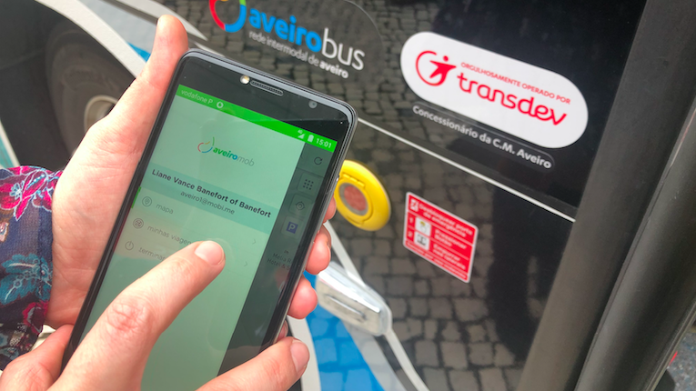 Aveiro vai testar integração de todos os meios de transporte numa app