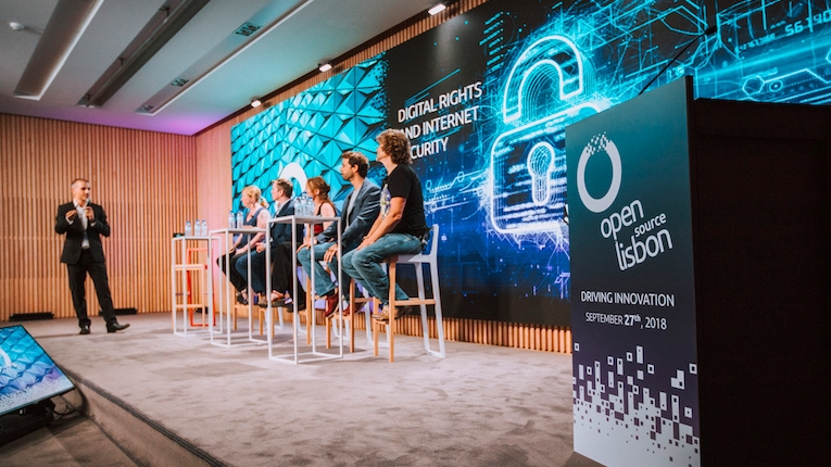 Open Source Lisbon 2018 recebeu centenas de participantes