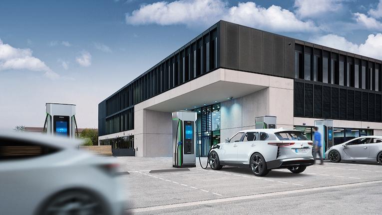 Siemens lança carregadores rápidos