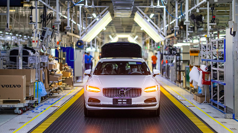 Volvo abre fábrica carbon-neutral
