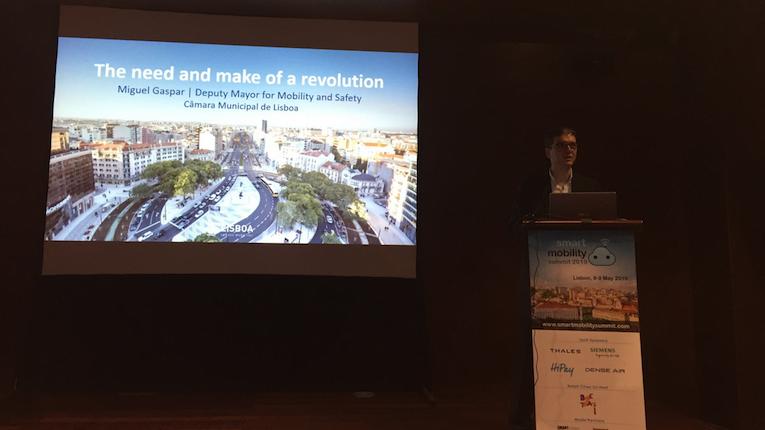 Digitalização de Lisboa em destaque no Smart Mobility Summit 2019