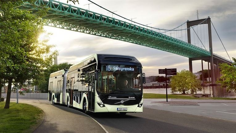 Volvo recebe a maior encomenda de autocarros elétricos da Europa