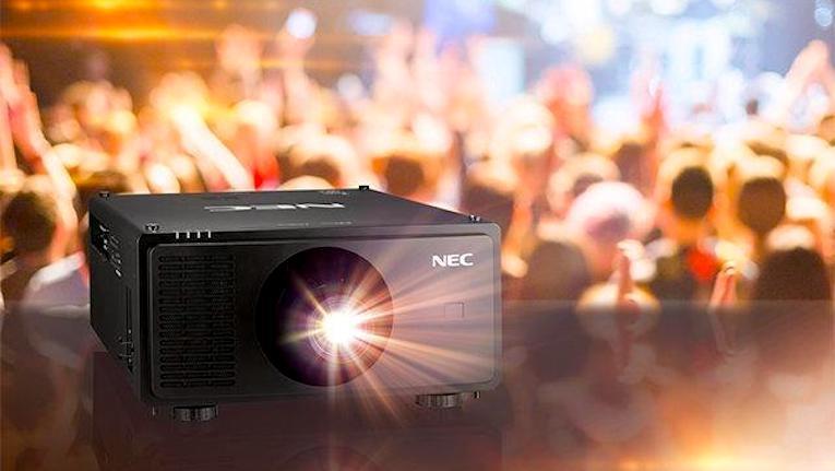 ISE 2020: NEC apresenta novo projetor a laser