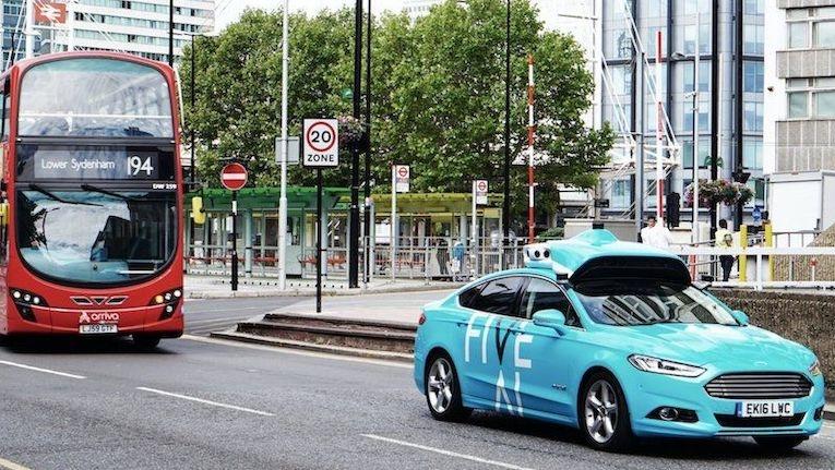 Londres testa condução autónoma em ambiente real