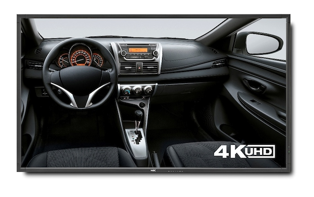 ISE 2015: NEC apresenta ecrã profissional UHD de 98 polegadas