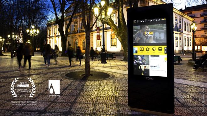 Digital Signage portuguesa premiada a nível global