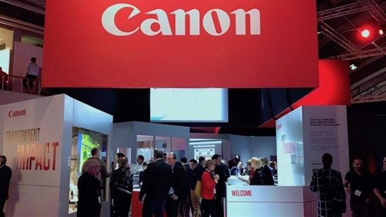 ISE 2018: Canon apresenta gama de projeção versátil