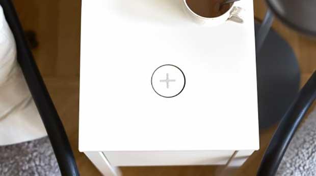 IKEA lança móveis integrados com carregamento wireless