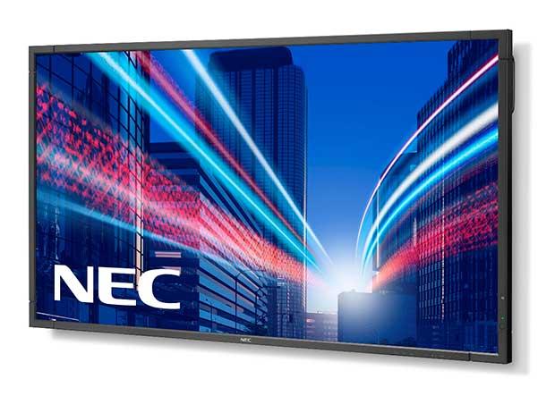 Novos ecrãs MultiSync E da NEC chegam ao mercado