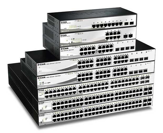 Novos interruptores de rede da D-Link otimizados para PMEs