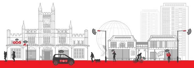 NEC e Bristol cooperam na criação da primeira cidade aberta e programável do mundo
