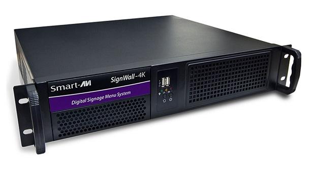 Produto combina matriz HDMI, processador Video Wall, e controlador de digital signage