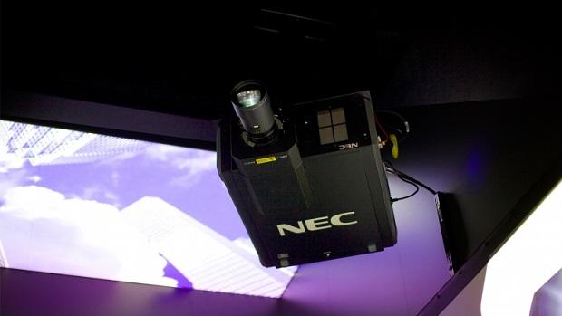 Projetor da NEC é o mais compacto do mundo com resolução 4K