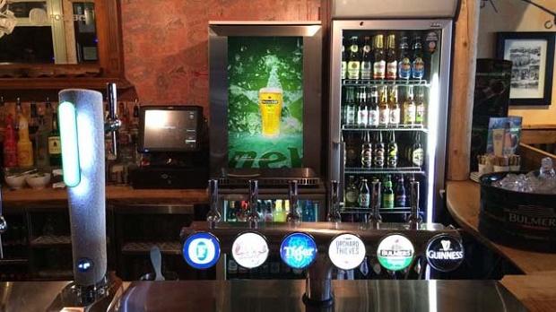 Digital signage chega aos frigoríficos para bebidas