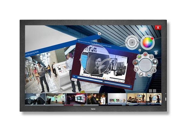 Nova gama de ecrãs de grande formato da NEC chega ao mercado