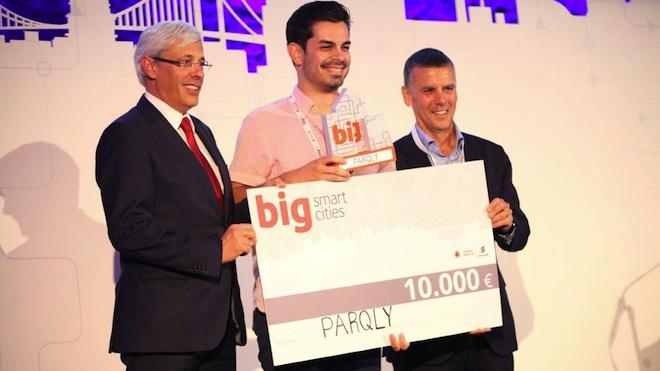 Startup portuguesa Parqly vence 4ª edição do Big Smart Cities