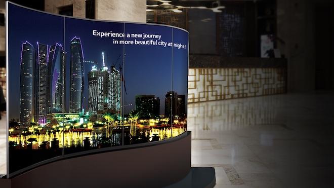 ISE 2017: LG aposta em OLED Digital Signage e LCD