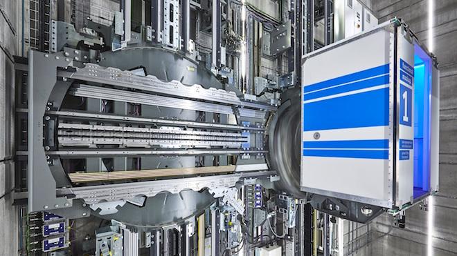 Primeiro elevador multidimensional inaugurado em Berlim