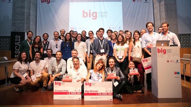 Startup portuguesa vence Big Smart Cities