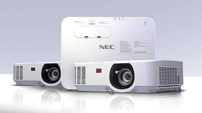 NEC lança novos projetores